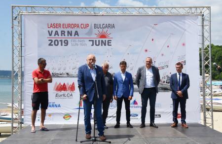Дизелор подкрепи Laser Europa Cup 2019 – ВАРНА