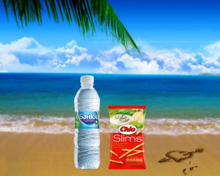 Минерална вода Банкя + Чио сол