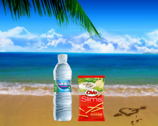Минерална вода Банкя + Чио солети сметана и лук
